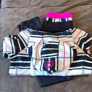 Scuba hoodie matching leggings